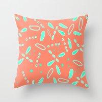 fireflies Throw Pillows featuring Fireflies   by TyeJiles