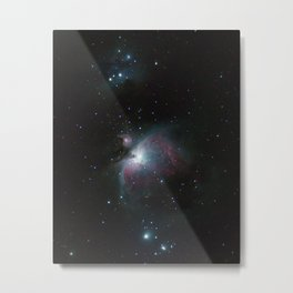 Orion Nebula (vertical mode) Metal Print