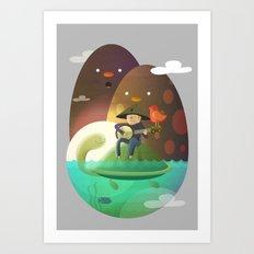 Island Lullaby Art Print