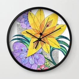 Botanica I Wall Clock