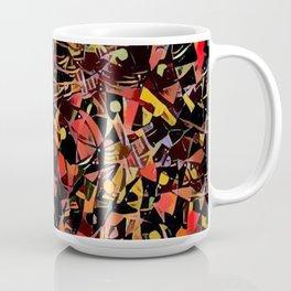 Sketchy Mosiac Coffee Mug