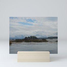 Cloudy Sitka Mini Art Print