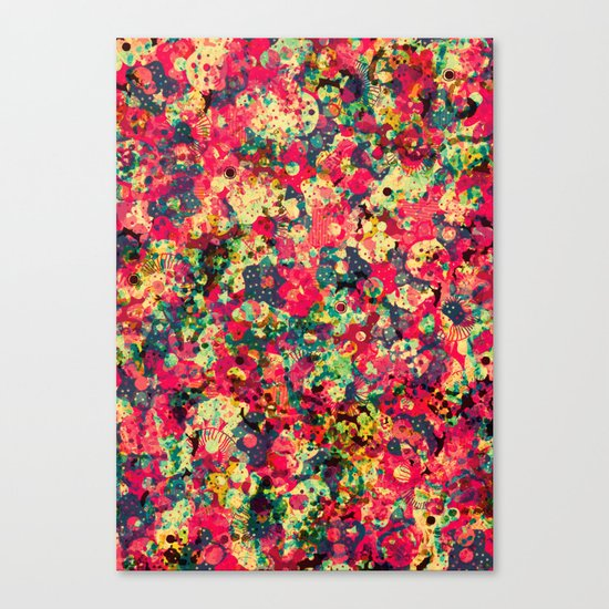 Where The Flowers Cry Canvas Print