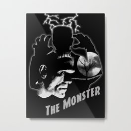 The Monster Metal Print