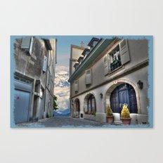 Far Beyond The Street Canvas Print