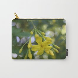 Close Up Of Carolina Jasmine Carry-All Pouch