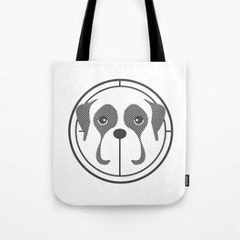 Annie the Boxer Badge Tote Bag