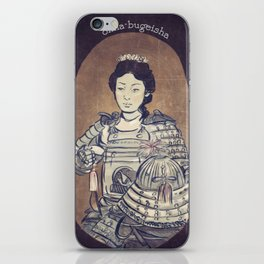 Onna-bugeisha iPhone Skin