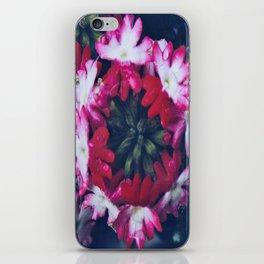 Pink Verbena iPhone Skin