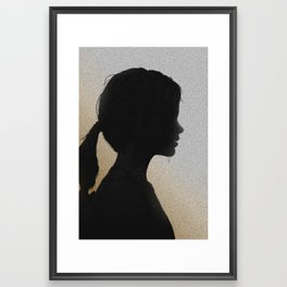 Ellie - Headshots #7 Framed Art Print