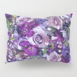 Romantic flowers III Pillow Sham