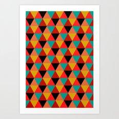 Ternion Series: Wintertide Jubilee Notion Art Print