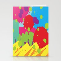 graffiti Stationery Cards featuring Graffiti by rivercbishop