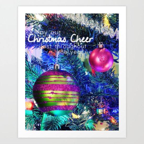 Xmas Cheer Art Print