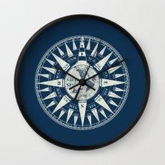 Sailors Compass Wall Clock