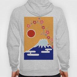 Mount Fuji and Sun Rise Hoody