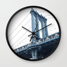 Manhattan Bridge NYC Wall Clock
