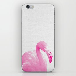 Flamingo 03 iPhone Skin