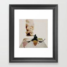 Le chasseur Framed Art Print