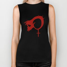 Demon+Girl shirt Biker Tank