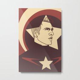 Ultron Cap Metal Print