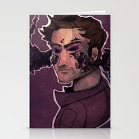 starlord Stationery Cards featuring Starlord by Livvy