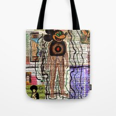 MY NAME IS CHAOS Tote Bag