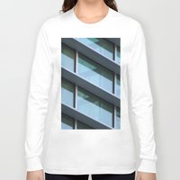 architecture Long Sleeve T-shirts featuring Architecture by Alex Dodds