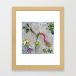 Birds of Paradise Framed Art Print