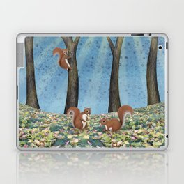 sunshine squirrels Laptop & iPad Skin