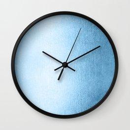 Blue Raspberry Shimmer Wall Clock