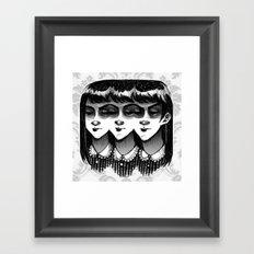 Triplets Framed Art Print