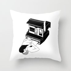 Instant Love Throw Pillow