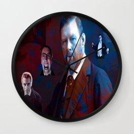 Bram Stoker Wall Clock