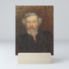 John-macwhirter-1839-1911,Landscape-painter Sir Hubert von Herkomer Mini Art Print