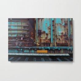 Abandon Train Metal Print