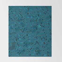 Reboot BLUE Throw Blanket