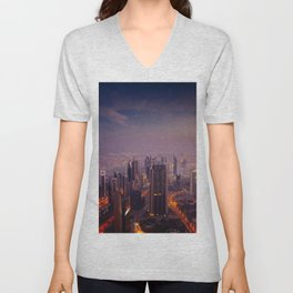 Beautiful Dubai Unisex V-Neck
