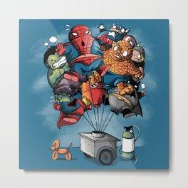 balloon heroes Metal Print