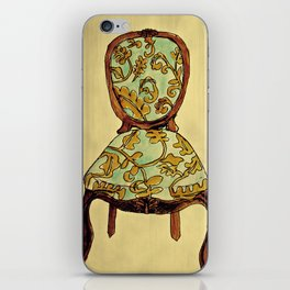 have a seat. iPhone Skin