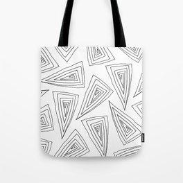 Flagstaff - black on white Tote Bag