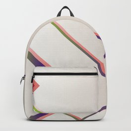 Rainbow Grids Backpack