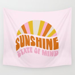 sunshine state of mind, type Wall Tapestry