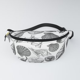 Sea and Ocean Life-Shell Pattern - Mix & Match with Simplicity of life Fanny Pack