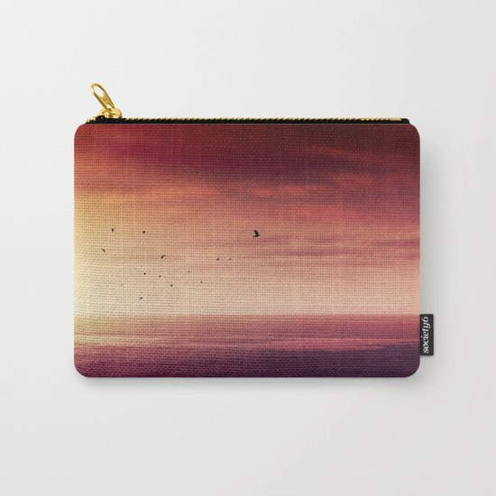 Red SunRise over the ATLANTIC Carry-All Pouch