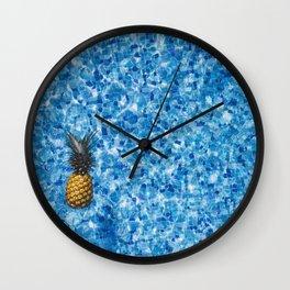 Fresh Pineapple Wall Clock