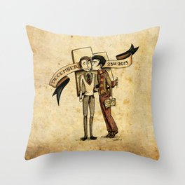 """This is the Place"" Throw Pillow"