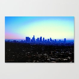 Haze of El Lay Canvas Print