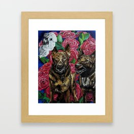 Bee Bee Bonita Remix Framed Art Print