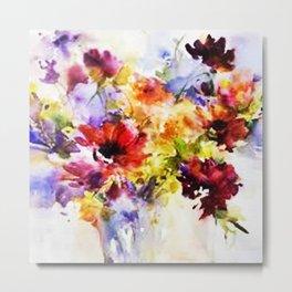 Floral Art Metal Print